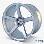 Vossen VPS-303 19 wheel silver 3d model
