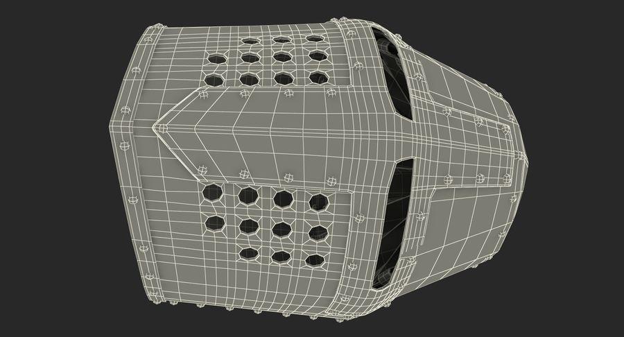 Casque de topfhelm royalty-free 3d model - Preview no. 25