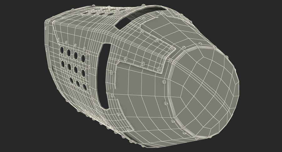 Casque de topfhelm royalty-free 3d model - Preview no. 24