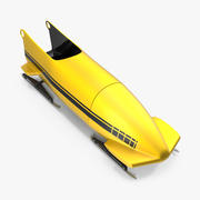Bobsled Two Person Generic 3d model