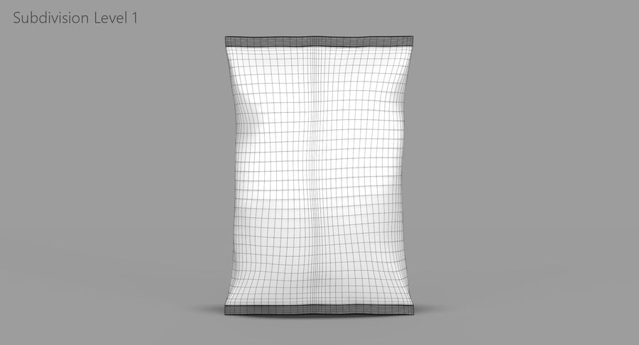 Chips Packaging royalty-free 3d model - Preview no. 10