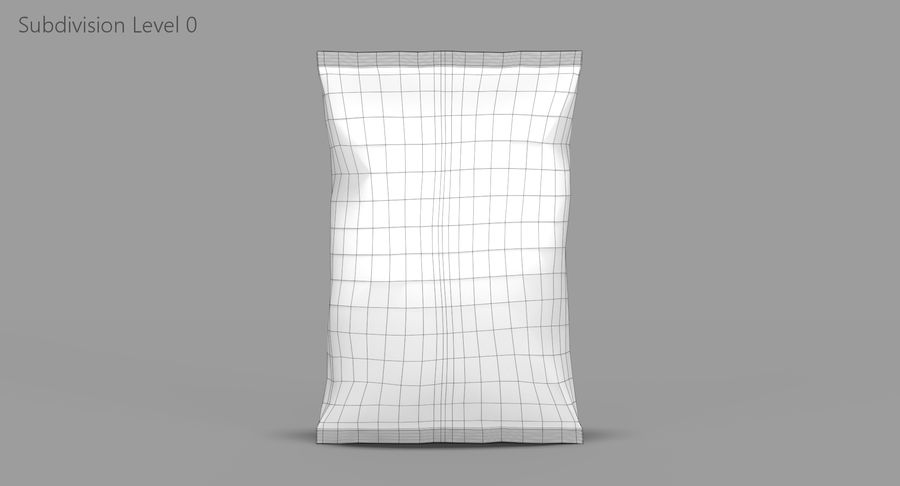 Chips Packaging royalty-free 3d model - Preview no. 9