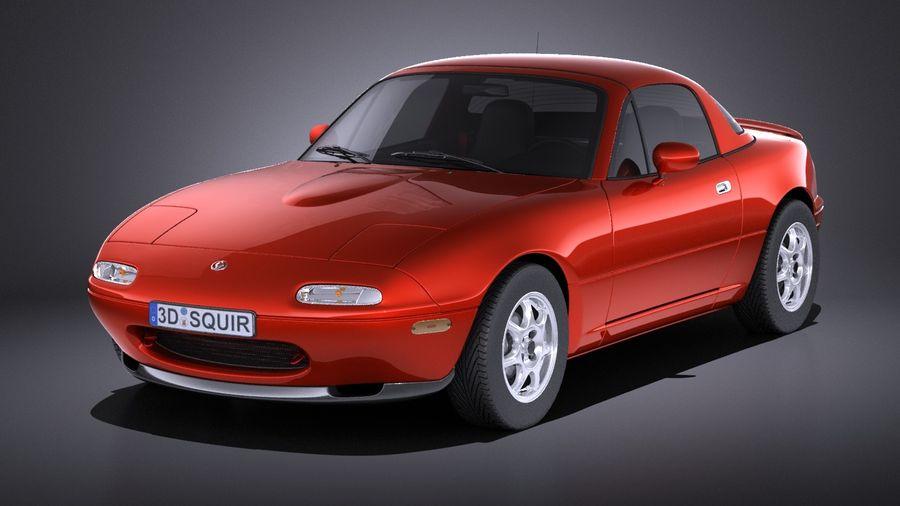 Mazda MX-5 Miata 1989-1997 VRAY 3D Model $129 - .obj .max .lwo .fbx ...