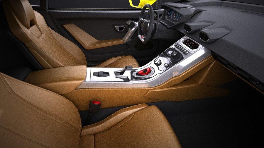 Lamborghini Huracan LP610-4 2016 VRAY royalty-free 3d model - Preview no. 15
