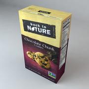 Biscuits aux morceaux de chocolat Back to Nature 3d model