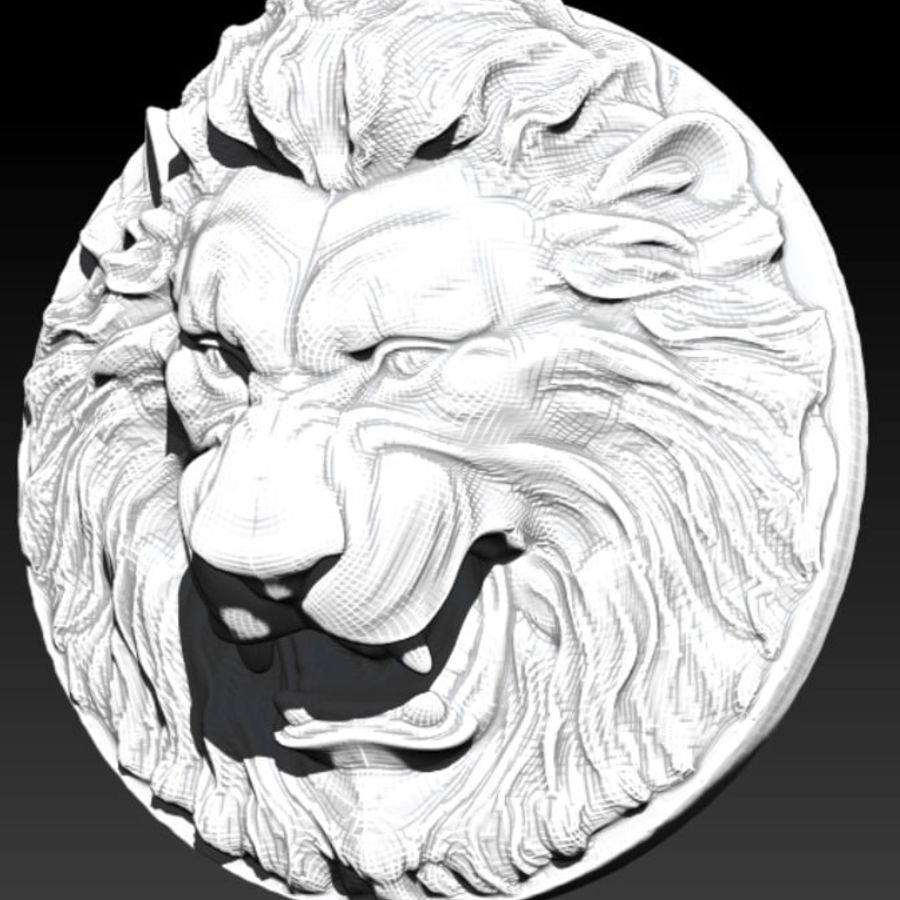 Lion royalty-free 3d model - Preview no. 1