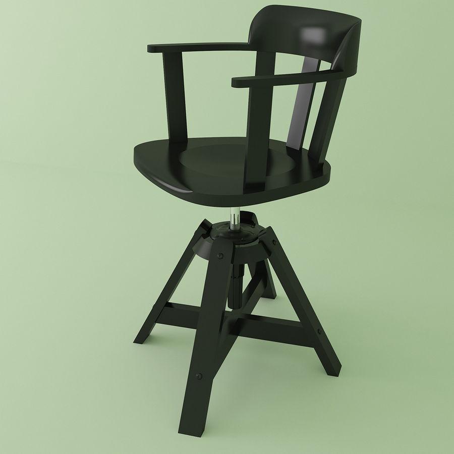 ikea feodor chair 3d model 8 obj max oth fbx free3d. Black Bedroom Furniture Sets. Home Design Ideas