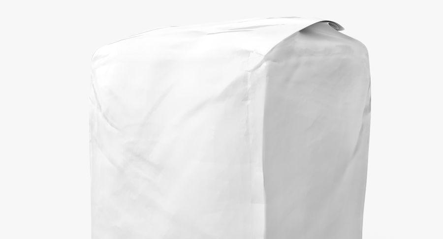 White Paper Bag royalty-free 3d model - Preview no. 8