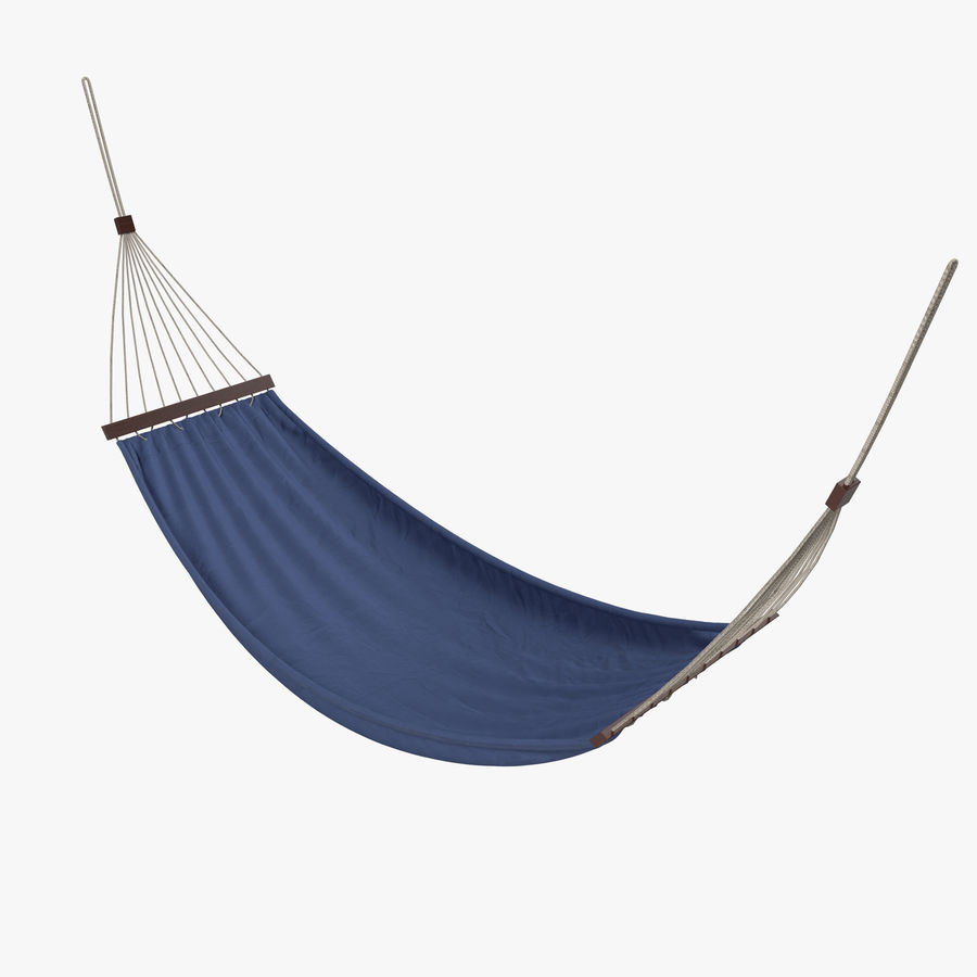 Hammock Set royalty-free 3d model - Preview no. 2