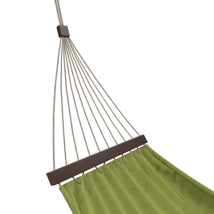 Hammock Set royalty-free 3d model - Preview no. 8
