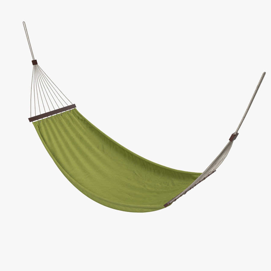 Hammock Set royalty-free 3d model - Preview no. 4