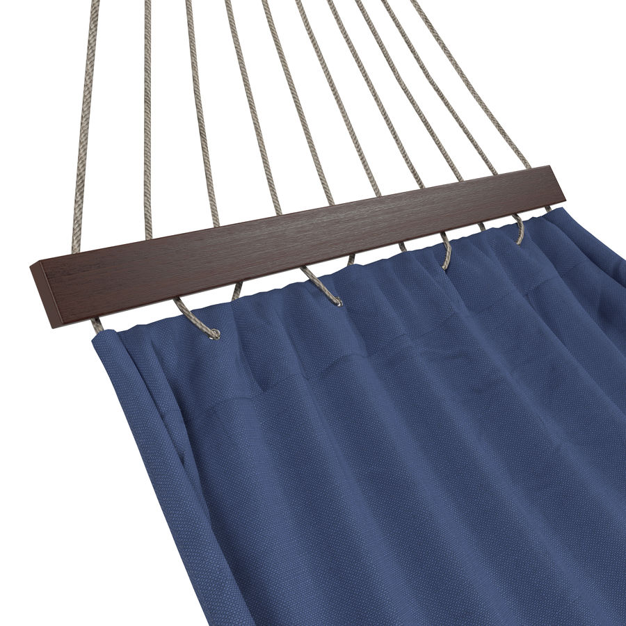 Hammock Set royalty-free 3d model - Preview no. 22