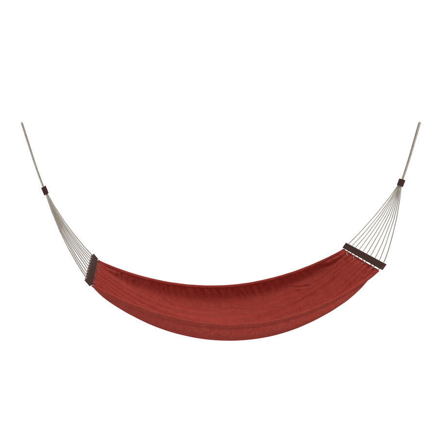 Hammock Set royalty-free 3d model - Preview no. 17