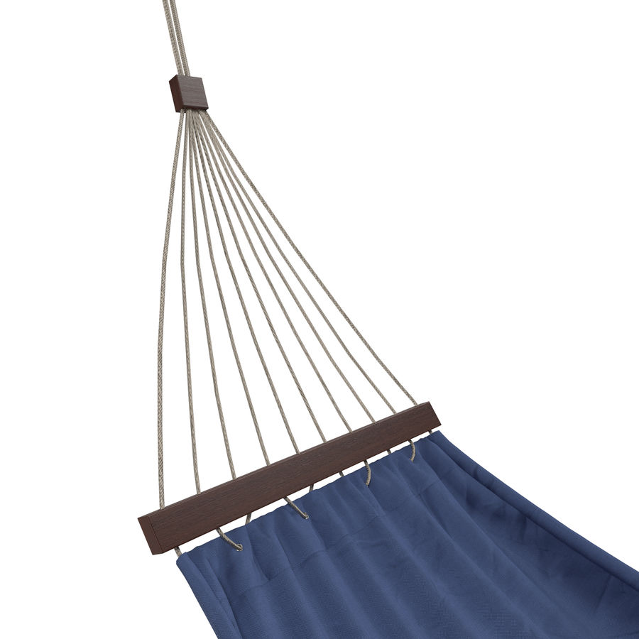 Hammock Set royalty-free 3d model - Preview no. 6
