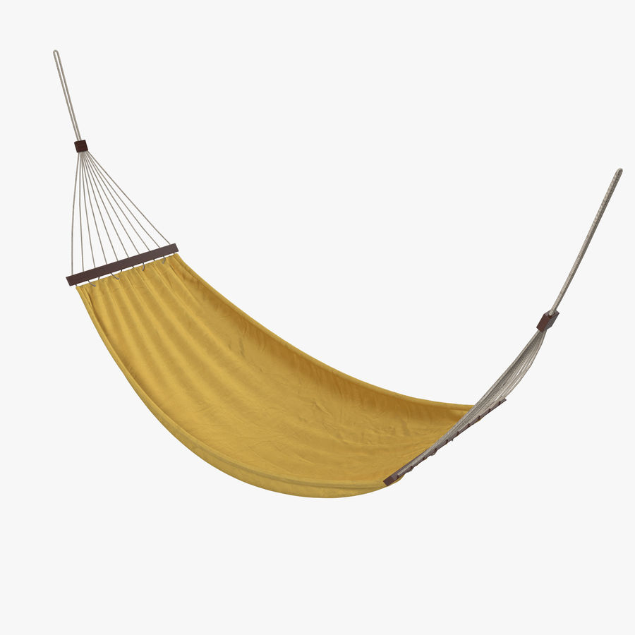 Hammock Set royalty-free 3d model - Preview no. 3