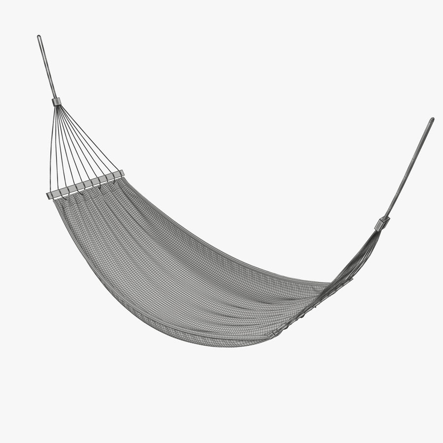 Hammock Set royalty-free 3d model - Preview no. 26