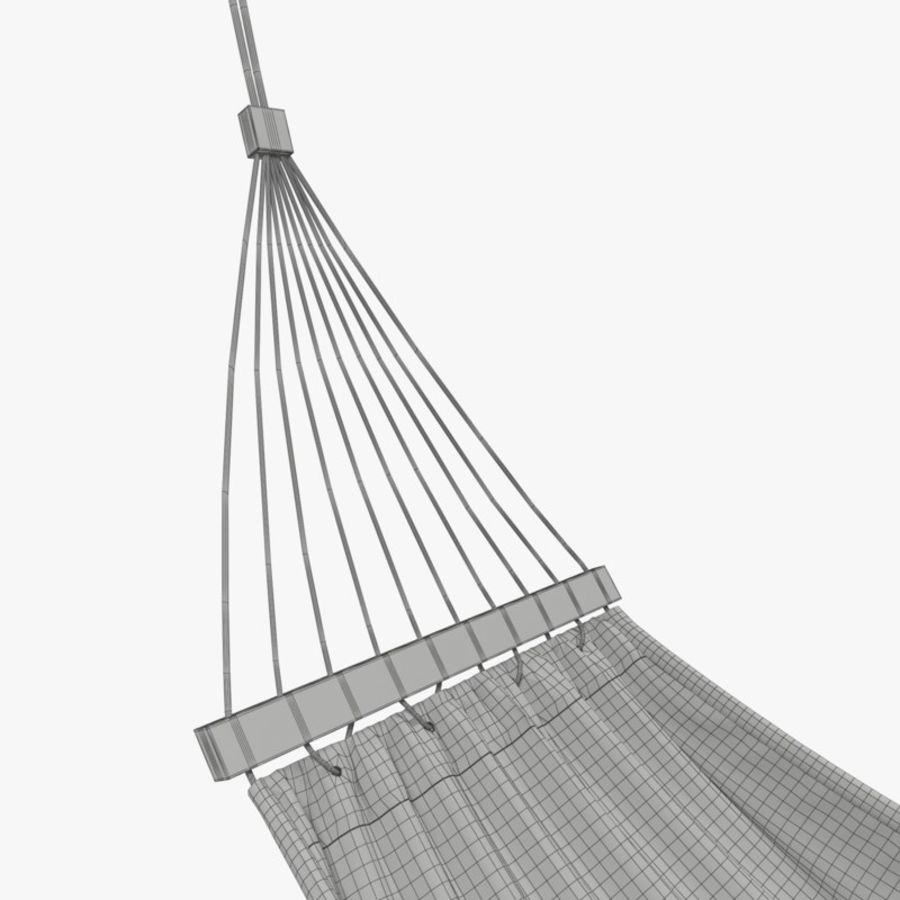 Hammock Set royalty-free 3d model - Preview no. 27