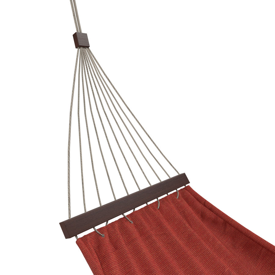 Hammock Set royalty-free 3d model - Preview no. 9