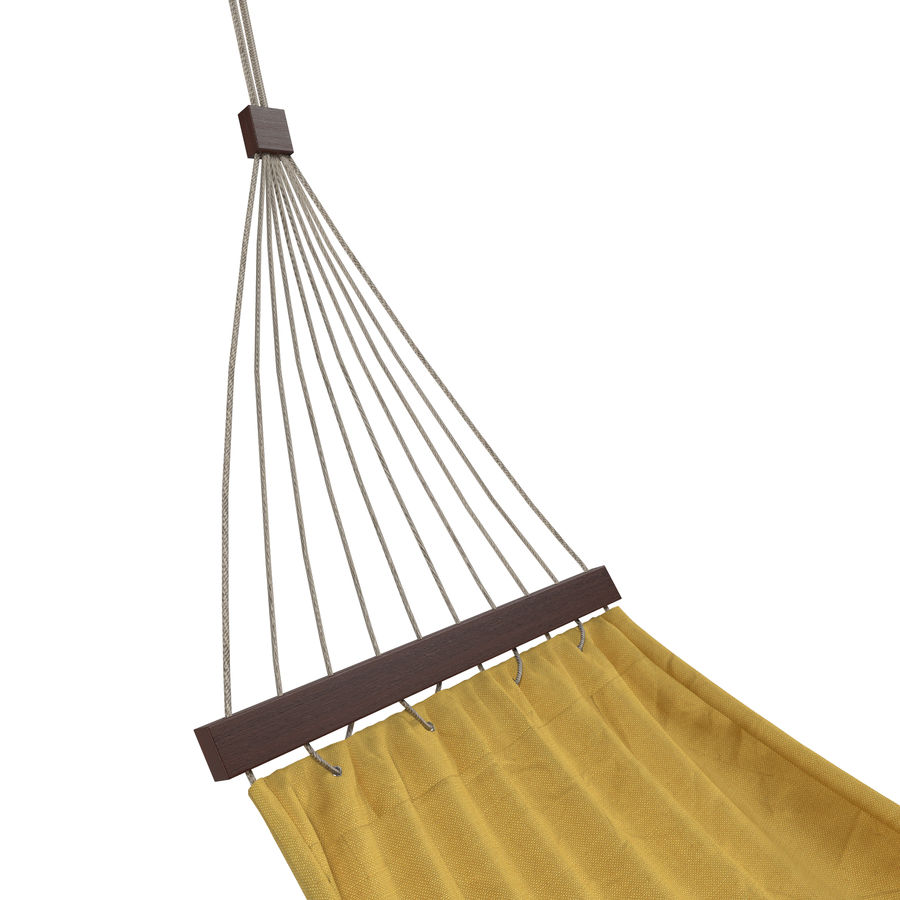 Hammock Set royalty-free 3d model - Preview no. 7