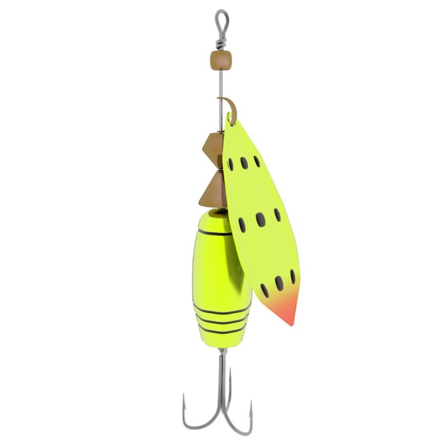 Fishing Lure royalty-free 3d model - Preview no. 4