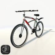 Bicycle low poly 3d model