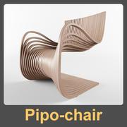 Sedia Pipo 3d model