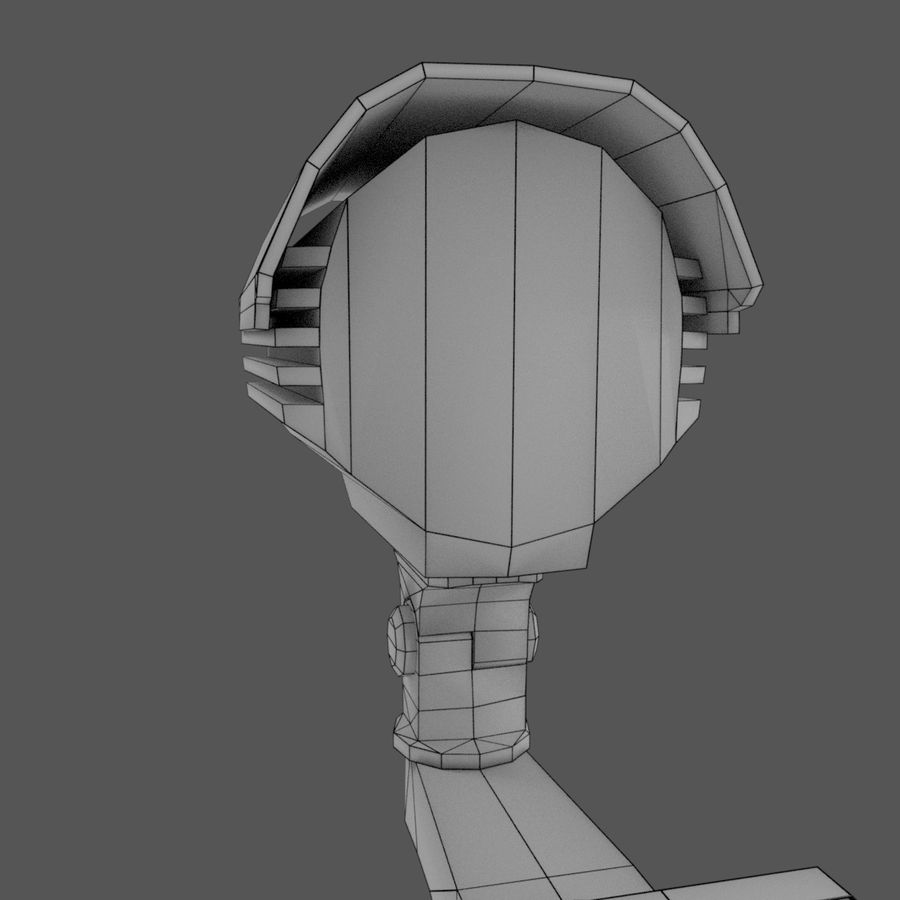 Security Camera royalty-free 3d model - Preview no. 5