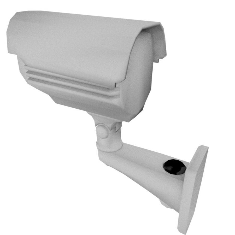 Security Camera royalty-free 3d model - Preview no. 2