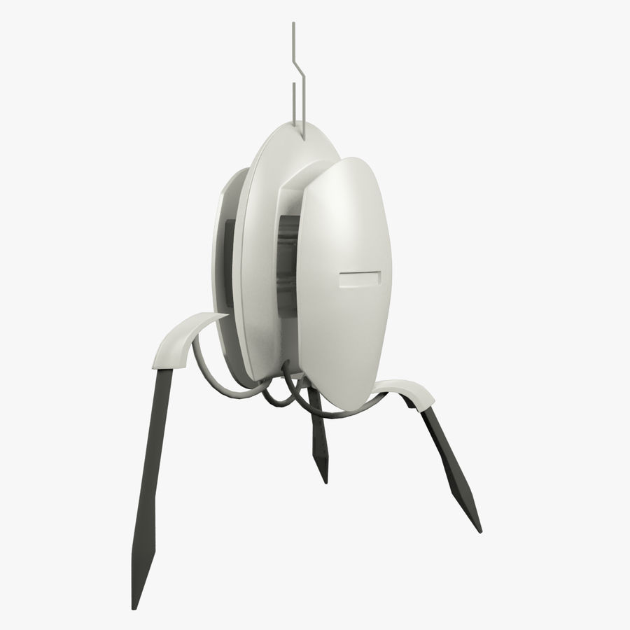 Sentry Turret From Portal 2 3D Model $9 -  unknown  max  obj