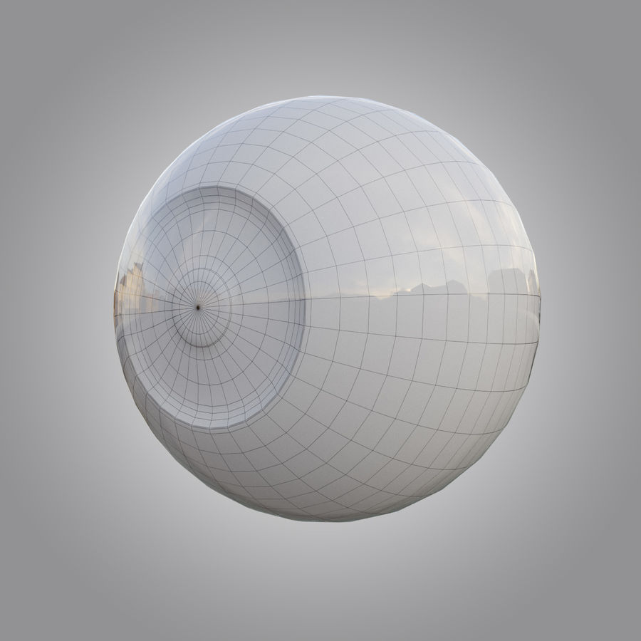 Human eye animated royalty-free 3d model - Preview no. 5