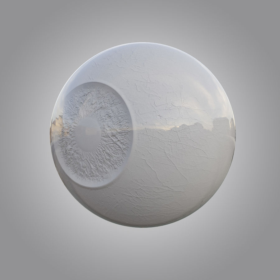 Human eye animated royalty-free 3d model - Preview no. 4