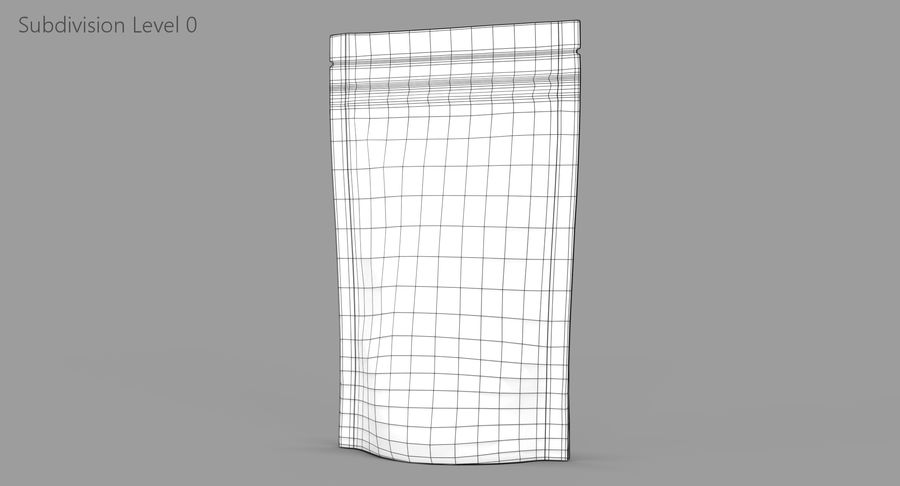 Stand Up Pouch v3 royalty-free 3d model - Preview no. 9