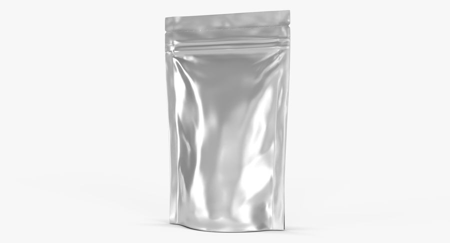 Stand Up Pouch v3 royalty-free 3d model - Preview no. 5