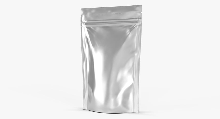 Stand Up Pouch v3 royalty-free 3d model - Preview no. 6