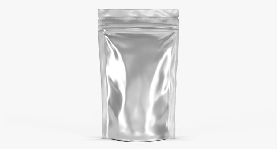 Stand Up Pouch v3 royalty-free 3d model - Preview no. 2