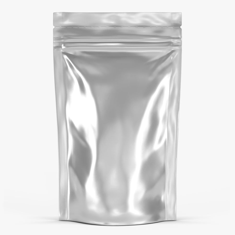 Stand Up Pouch v3 royalty-free 3d model - Preview no. 1