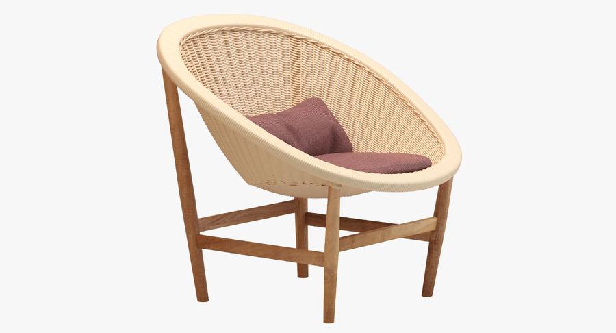Kettal Basket Wicker Chair 3d Model 19 Max Obj Fbx
