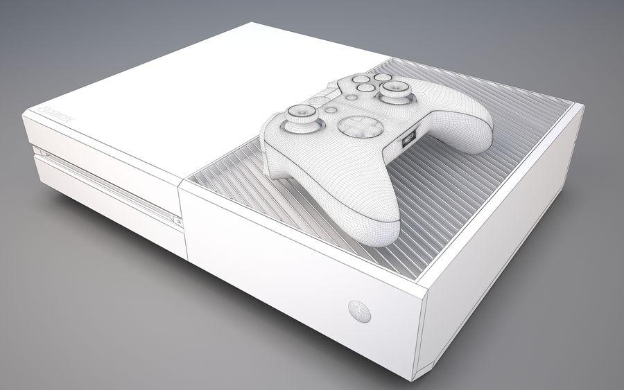 Xbox ett royalty-free 3d model - Preview no. 7