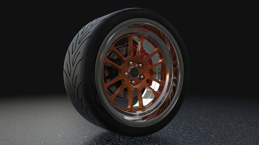 Cosmis Racing xt206r i Yokohama ADVAN a048 royalty-free 3d model - Preview no. 2