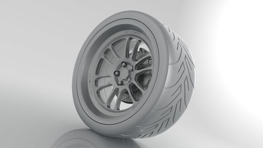 Cosmis Racing xt206r i Yokohama ADVAN a048 royalty-free 3d model - Preview no. 5