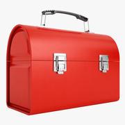 Metal Lunch Box 01 3d model