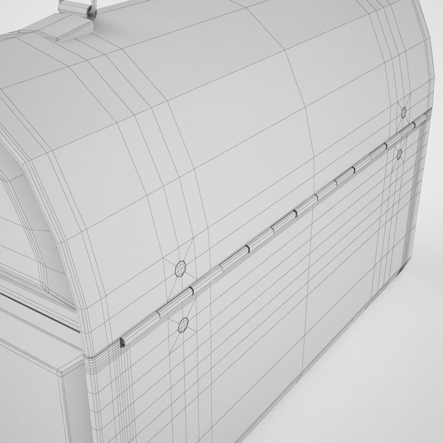 Metal Lunch Box 01 royalty-free 3d model - Preview no. 28