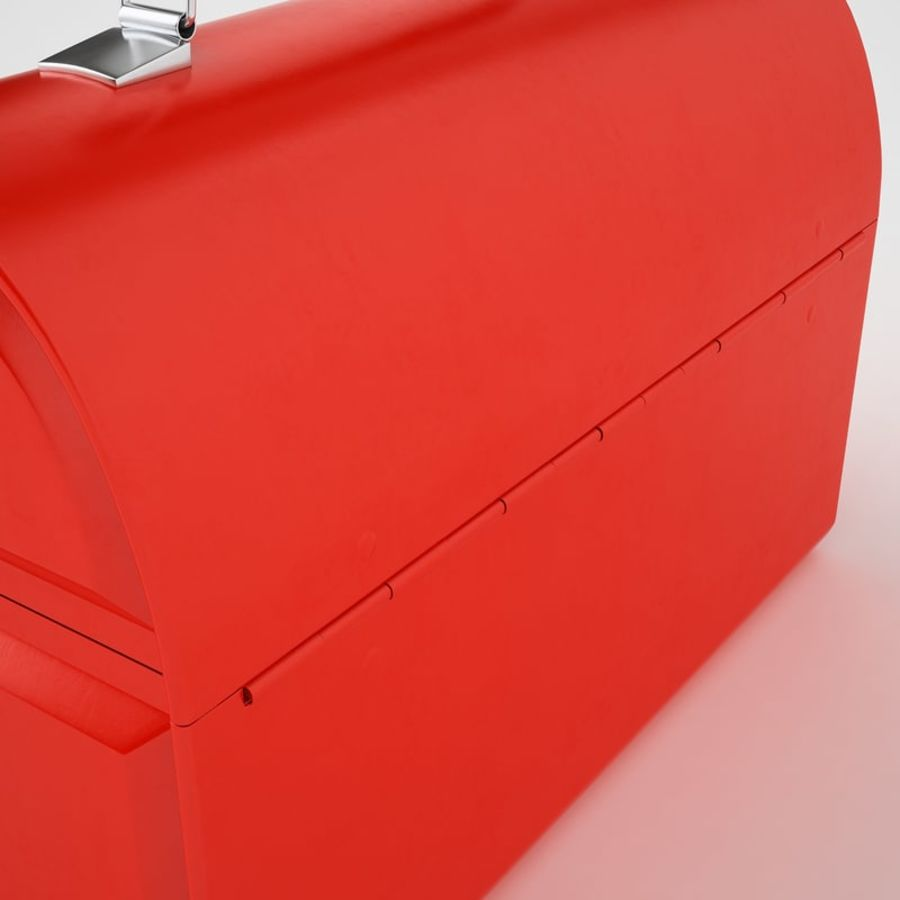 Metal Lunch Box 01 royalty-free 3d model - Preview no. 27