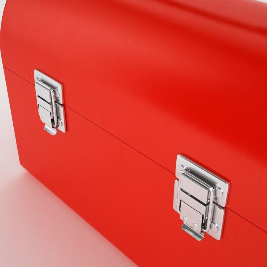 Metal Lunch Box 01 royalty-free 3d model - Preview no. 21
