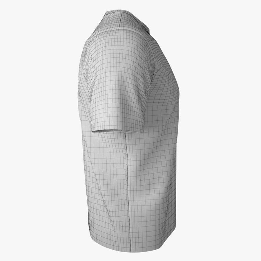 T恤V2(黑色) royalty-free 3d model - Preview no. 12