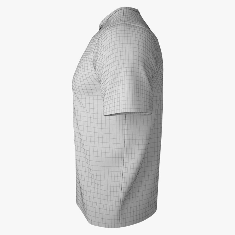 T恤V2(黑色) royalty-free 3d model - Preview no. 16