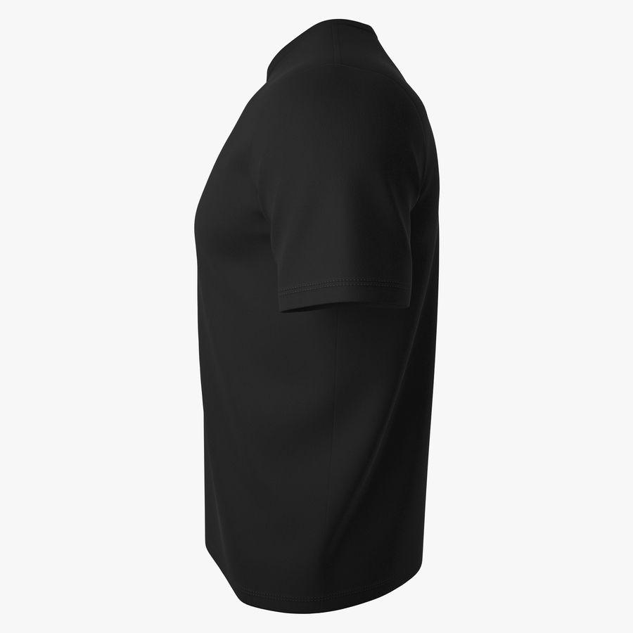 T恤V2(黑色) royalty-free 3d model - Preview no. 7