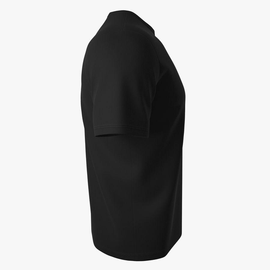 T恤V2(黑色) royalty-free 3d model - Preview no. 3