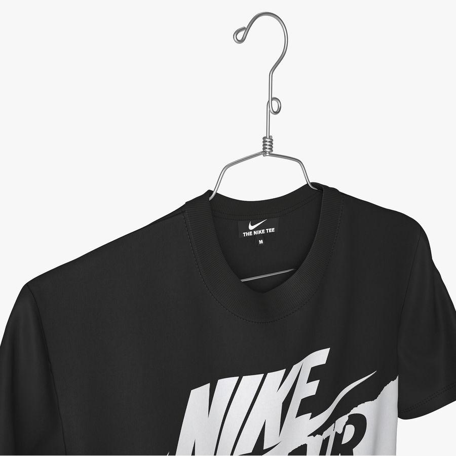 Koszulka T-shirt Nike Air Force 1 royalty-free 3d model - Preview no. 2