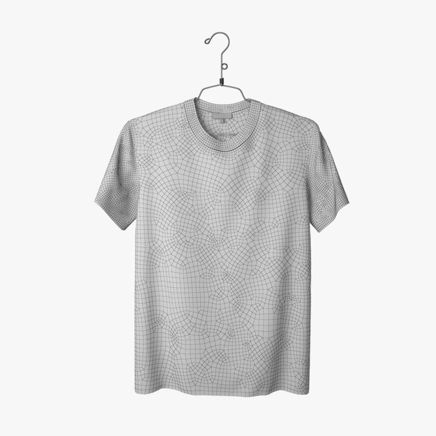 Koszulka T-shirt Nike Air Force 1 royalty-free 3d model - Preview no. 12